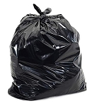 16 x 14 x 36.002 Black Trash Can Liners-250 case